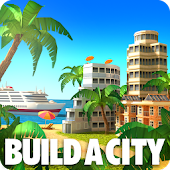 Paradise City Island Sim Town: Build it on the Bay