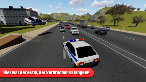 Racing on Lada Vaz Police 3D - screenshot