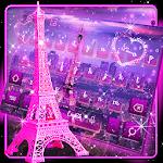 Pink Paris Keyboard Theme Icon