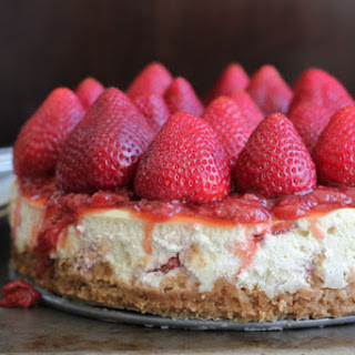 Strawberry Cheesecake + A Giveaway!