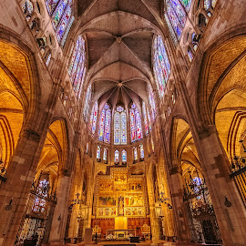 altar catedral de León by Roberto Gonzalo - Buildings & Architecture Places of Worship ( león, catedral )