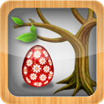 Easter Day : Magic Eggs & Tree Icon