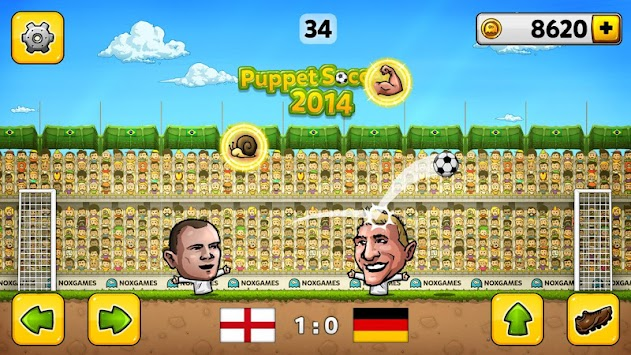 Puppet Soccer 2014 - Football APK screenshot thumbnail 2