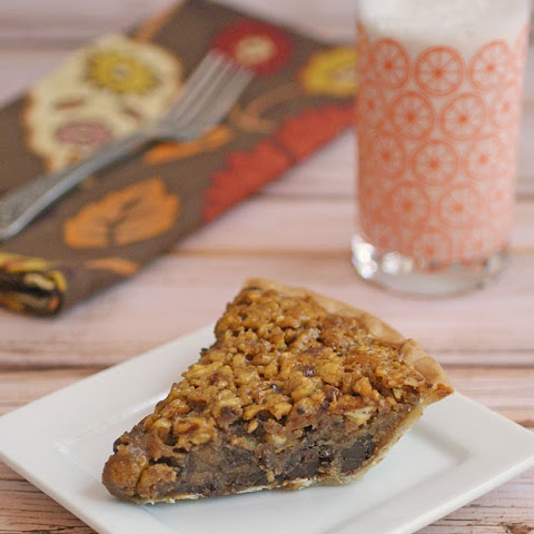 Bourbon & Chocolate Pecan Pie