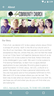 Life Community Church - screenshot