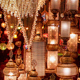 Chandlers & Lamps by Abdul Rehman - Artistic Objects Antiques ( natural light, egyptian, egyptian bazar, masjid, sunset, mughal.king, turkey, architecture, architecture beautiful, turkish architect, historic, masque )