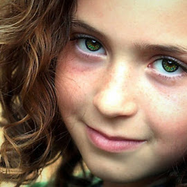 Morgan Leigh by Sandy Considine - Babies & Children Child Portraits ( young girl, brown hair, curly hair )