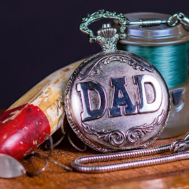 Dad by Robert George - Artistic Objects Still Life