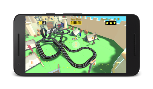 Slot Car Racing - Double Track