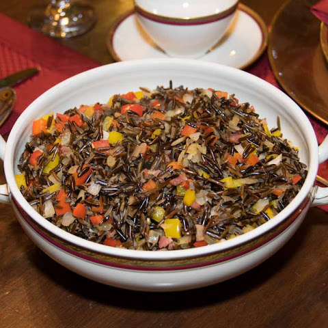 Wild Rice with Sauteed Peppers
