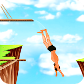 Download Full Cliff Flip Diving 2D-Free 1 APK