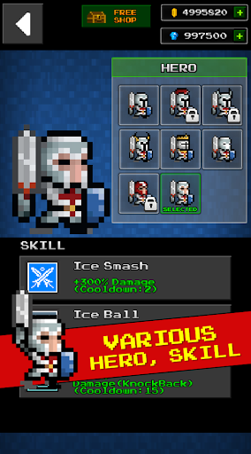 Dungeon & Pixel Hero(RetroRPG) - screenshot
