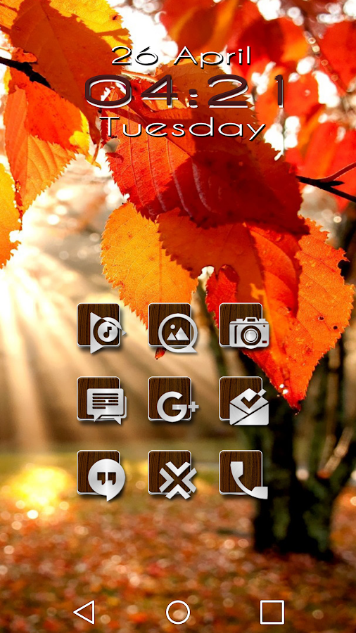 Slipped Wood - Icon Pack Screenshot 3