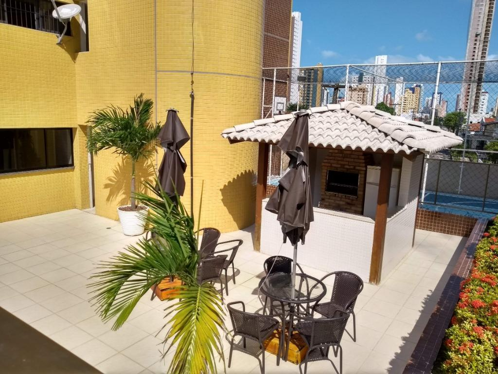 Apartamento com 3 dormitórios à venda, 160 m² por R$ 530.000,00 - Manaíra - João Pessoa/PB