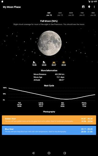 My Moon Phase Pro - screenshot