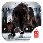 Free Wolf Theme && Emoji Keyboard APK for Windows 8