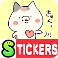 Calico cat Stickers Free