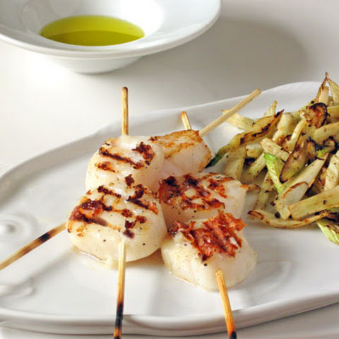 Perfect Grilled Scallops- Simple Summer Skewers