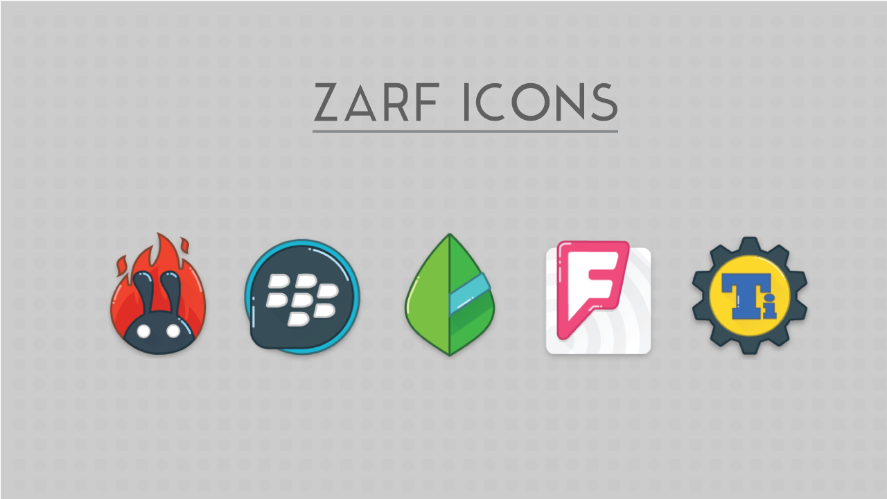 Zarf - Icon Pack (SALE.!!) Screenshot 4