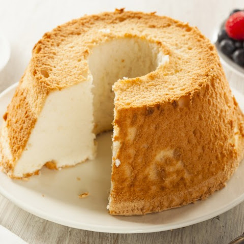 12 Egg White Angel Food Cake