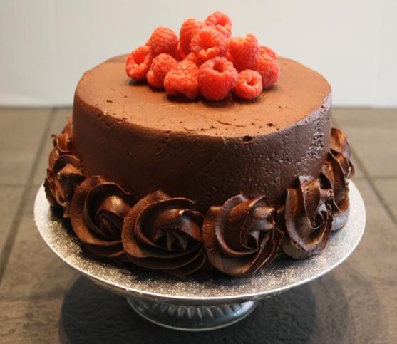 Vegan Chocolate Cherry Mousse Cake Recipe | Yummly