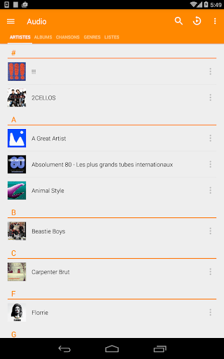 VLC for Android screenshot 20