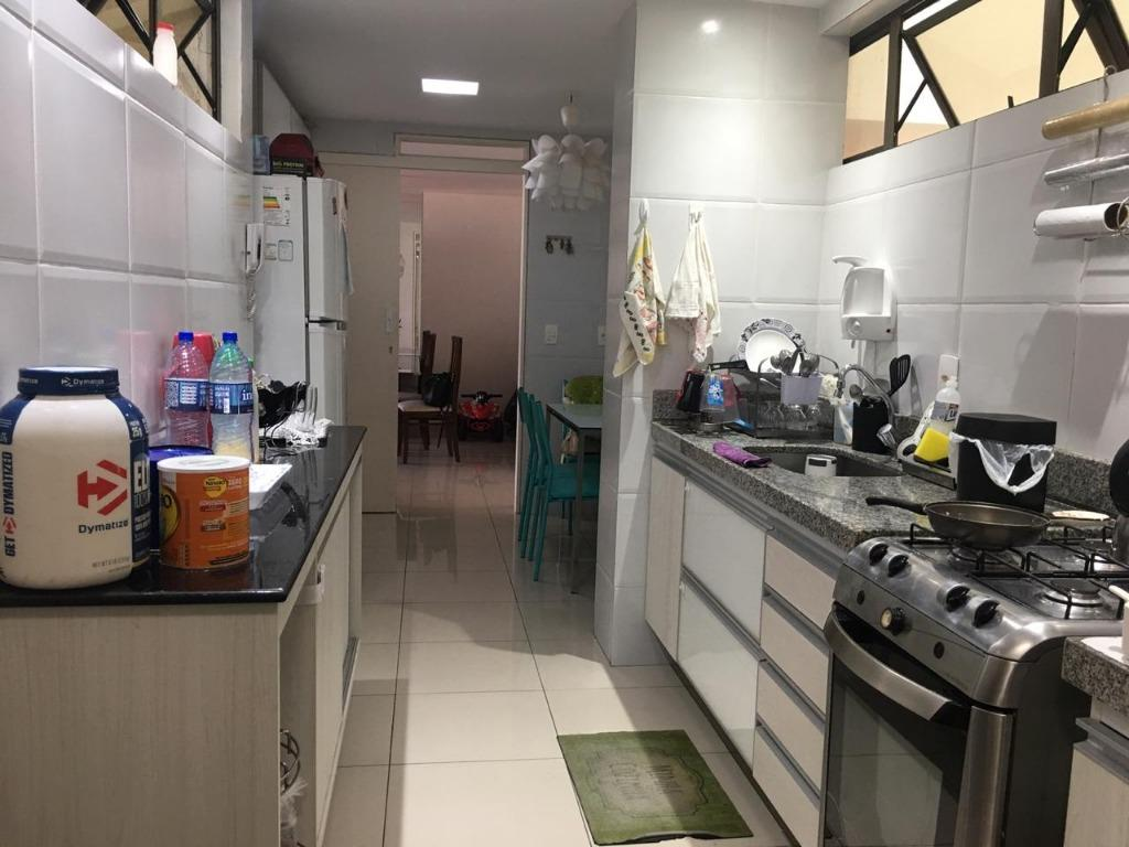 Apartamento com 3 dormitórios à venda, 101 m² por R$ 550.000 - Bessa - João Pessoa/PB