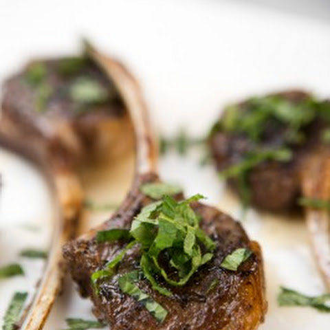 Grilled Lollipop Lamb Chops
