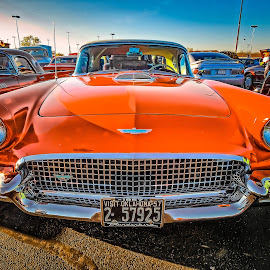 '57 Thunderbird by Ron Meyers - Transportation Automobiles