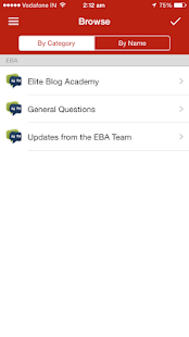 Elite Blog Academy - screenshot