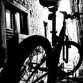 Let me go  by Vedrana Vidovic - Transportation Bicycles ( bike, street, croatia, night, nikon )