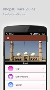 Bhopal: Offline travel guide - screenshot