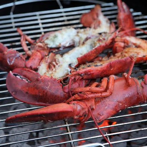 Grilled Whole (RED) Lobster