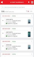Screenshot of My Verizon Enterprise