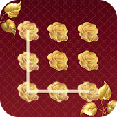Gold Rose CM Security Theme