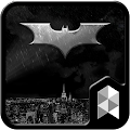 Black Dark Hero Launcher theme APK for Kindle Fire