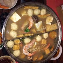 Malaysian Seafood Steamboat Feast