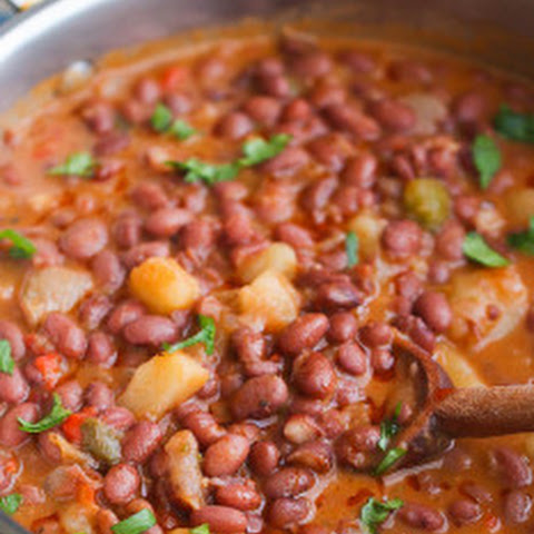 Puerto Rican Style beans