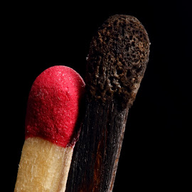 MAachsticks by Sanjib Paul - Artistic Objects Technology Objects ( matches, red, burnt, match stick, artistic objects )