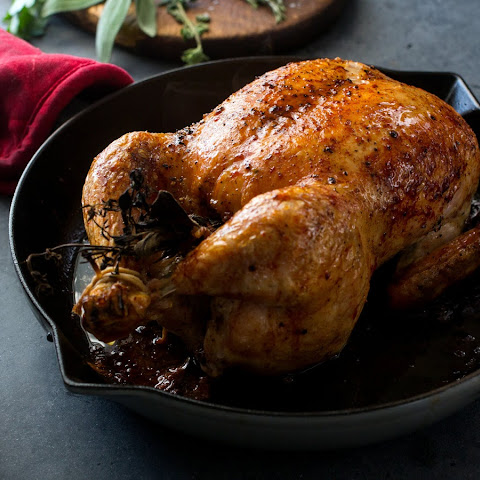 Salt-and-Pepper Roast Chicken
