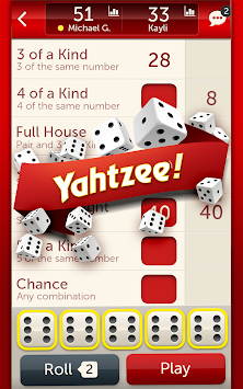 YAHTZEE® With Buddies - Dice! APK screenshot thumbnail 7