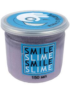 Слайм-лизун Cмузи фиолетовый, 150 мл.