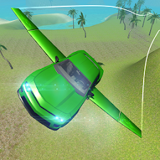 Flying Stunt Car Simulator