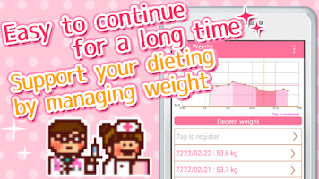 Screenshot of Woman's DIARY period・diet・cal