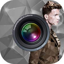 Photo filter-polygon effect