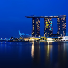 Marina Bay Sands Singapore by Ruben Dela Cruz - Buildings & Architecture Office Buildings & Hotels