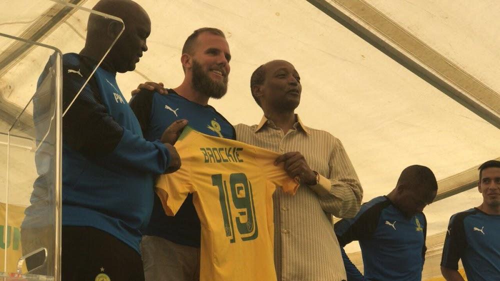 Mamelodi Sundowns owner Patrice Motsepe parades new signings