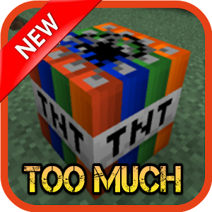 too much tnt mod mcpe android apps on google play. Black Bedroom Furniture Sets. Home Design Ideas