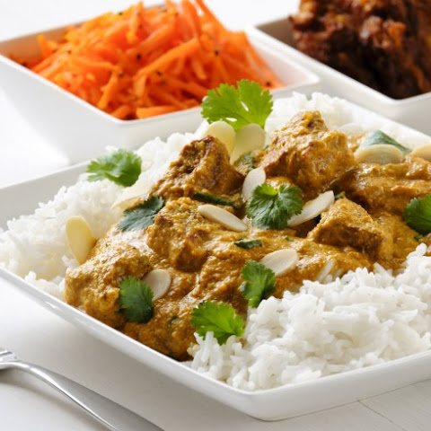 Lamb In Creamy Curry Sauce