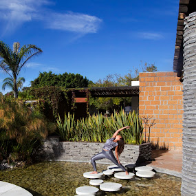 Yoga at spa by Cristobal Garciaferro Rubio - Sports & Fitness Fitness